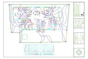 Portfolio for Electrical Drawing For Your Building