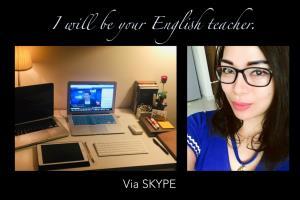 Portfolio for Online English Teacher Via Skype