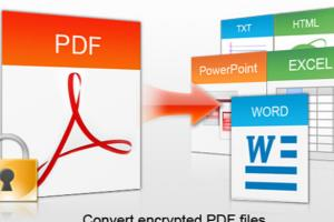 PDF Conversion to Word/ Excel
