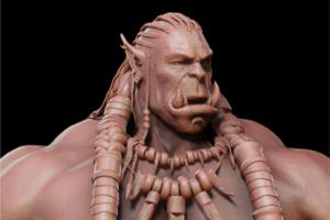 Portfolio for Sculpt with Zbrush from your concept