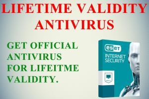 "Portfolio for Antivirus of ""LIFETIME VALIDITY"""