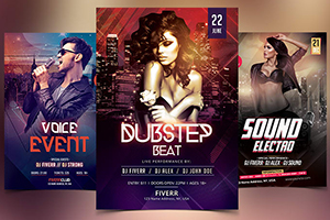 Portfolio for Design All Types Of Flyers And Posters