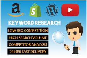 Portfolio for I will provide you SEO keyword research