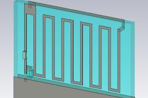 Portfolio for RF antenna developer