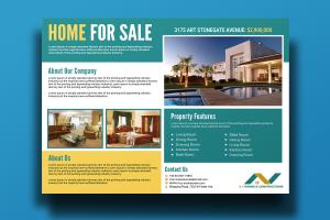 Portfolio for I will Create Real Estate Flyer