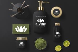 Portfolio for design fashion luxury beauty spa logo