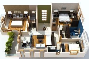 Portfolio for 3D Interior Designing