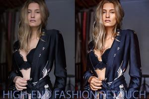 Portfolio for High-End Retouching - Beauty&Fashion