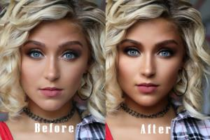 Portfolio for Beauty Photo Retouching & Photoshop Edit