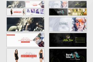 Portfolio for I Will Create Facebook Banner Design