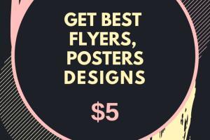 Portfolio for Flyers Design