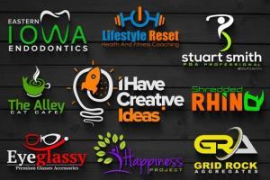 Portfolio for i will design a business logo