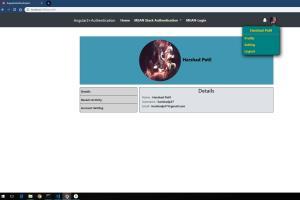 Portfolio for MEAN stack development