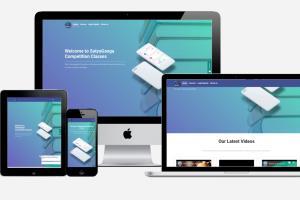 Portfolio for Website in Node.js