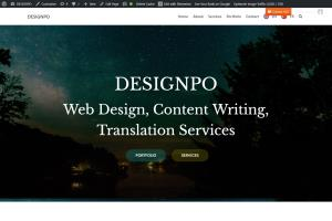 Portfolio for Web Design, WordPress, Website Creation