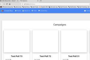 Portfolio for Website using Django Framework