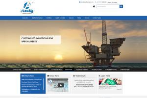 Portfolio for Manufacturing Website Design