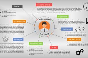 Portfolio for CV & Resume Design