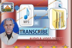 Portfolio for Transcribe audio/video