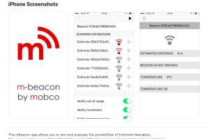 Portfolio for BLE Bluetooth And iBeacon Application
