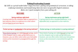 Portfolio for Freelance Editor/Proofreader