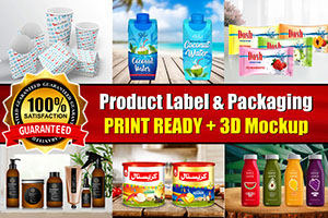 Portfolio for I Will Do Amazing Product Packaging Desi
