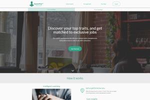 Portfolio for React js + Django(Job Matching Platform)