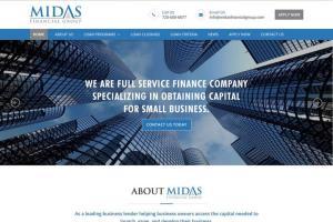 Portfolio for Finance Web Site