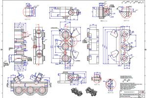 Portfolio for Detail Drawing for Manufacturing