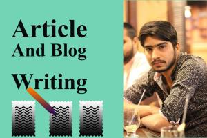 Portfolio for Blog and Article writing