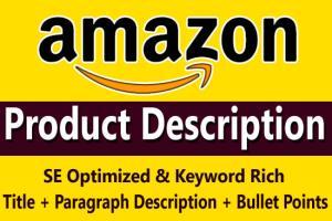 Portfolio for I Will Write Amazon Product Description