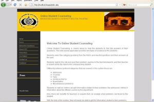 Portfolio for Online Student Counseling Web System