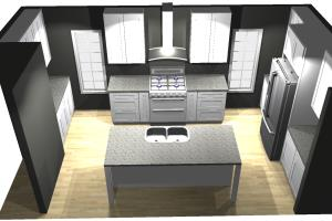 Portfolio for RTA Kitchen & Bath 2020 Design Layout