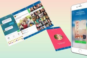 Portfolio for Dating/Chat mobile app