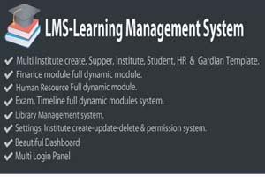 Portfolio for LMS-Learning Management System