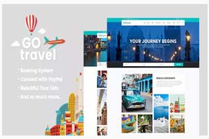 Portfolio for Travel Agency Booking website