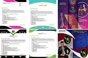 Portfolio for T-shirt, Brochure,Flyer, Banner Ads,Logo