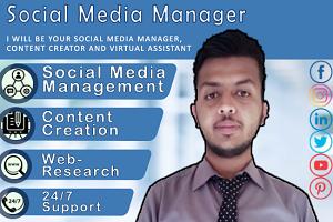 Portfolio for Virtual Assistant for Social Media