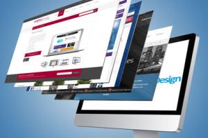 Portfolio for website template design