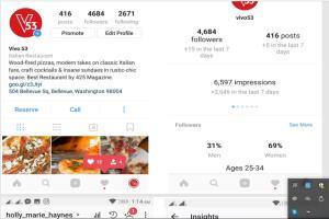 Portfolio for Instagram Page Growth