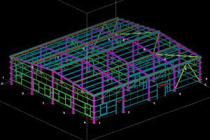 An example from my job on Tekla Structures