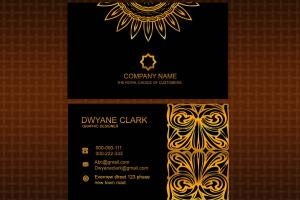 Portfolio for Eye catching Business card