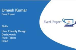 Portfolio for Excel Expert