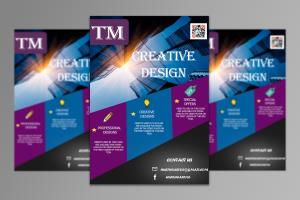 Portfolio for Flyers,Ads and Business Cards Design