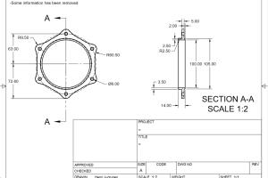 Portfolio for Professional CAD design