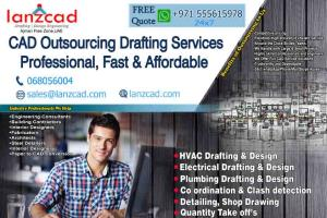 Portfolio for Lanzcad outsourcing MEP drafting service