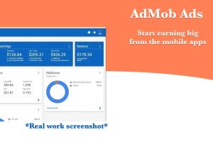 Portfolio for Monetize using Ad Networks in Mobile app