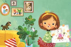 Portfolio for Design cute children book illustrations