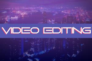 Portfolio for video editor and creative thinker