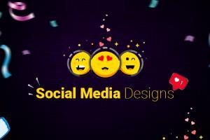 Portfolio for Social Media Designs